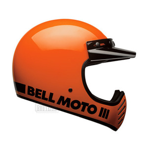 벨헬멧 모토3BELL MOTO3 CLASSIC FLO ORANGE