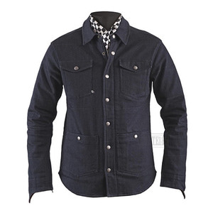 헬스톤자켓 로니 데님HELSTONS RONY COTTOM DENIM SHIRT