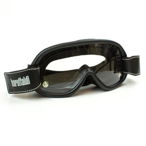 바루팔디고글 스피드4BARUFFALDI SPEED4LEATHER BLACK 4LENS