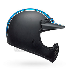 벨헬멧 모토3BELL MOTO3STRIPESSILVER/BLACK/BLUE
