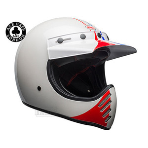 벨헬멧 모토3BELL MOTO3 SPECIALACE CAFE GP 66WHITE/RED