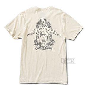 알에스디티셔츠 훌리건이글RSD T-SHIRTHOOLIGAN EAGLEVINTAGE WHITE