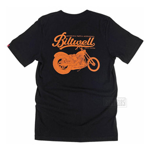 빌트웰티셔츠 스윙암BILTWELL T-SHIRTSWING-ARM BLACK