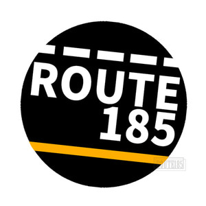 루트185 스티커ROUTE185ROAD DECAL