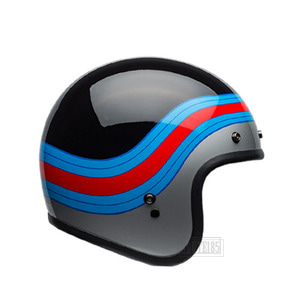벨헬멧 커스텀500BELL CUSTOM500PULSEBLACK/BLUE/RED